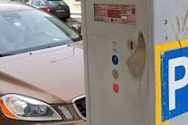 Parkovací automat v Olomouci. Ilustrační foto