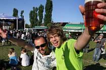 Pivní festival na Lazcích