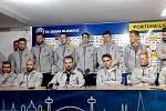 Hráči Sigmy po výhře nad Libercem v press centru Androva stadionu vyjádřili podporu trenéru Látalovi