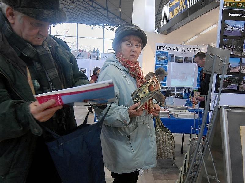 Veletrh cestovního ruchu Tourism Expo na olomouckém výstavišti.
