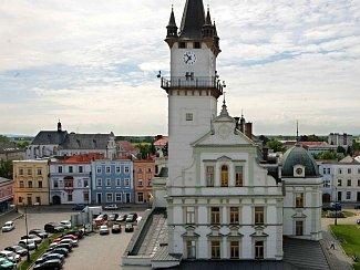 Radnice v Uničově. Ilustrační foto
