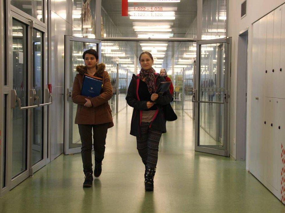 Přírodovědecká fakulta. Den otevřených dveří na UP