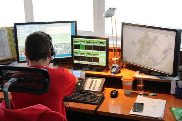 Operační středisko záchranné služby vOlomouci