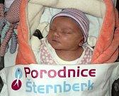 Eliška Prucková, Oubramice narozena 20. ledna míra 50 cm, váha 3460 g
