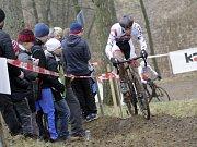V Uničově se konal poslední závod českého poháru v cyklokrosu. Diether Sweeck
