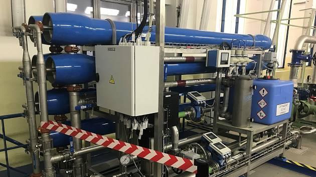 Technologie nanofiltrace byla použita na úpravně vod v České republice poprvé v Domašově nad Bystřicí.  Cena je v řádu milionů korun.