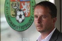 Předseda disciplinární komise fotbalového svazu Jiří Golda