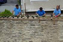 Oprava litovelských hradeb