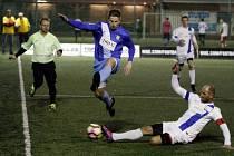 Superliga malého fotbalu: Olomouc proti Pardubicím