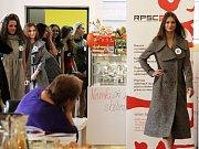 Představení finalistek Miss OK 2016 v Beauty Café v Olomouci