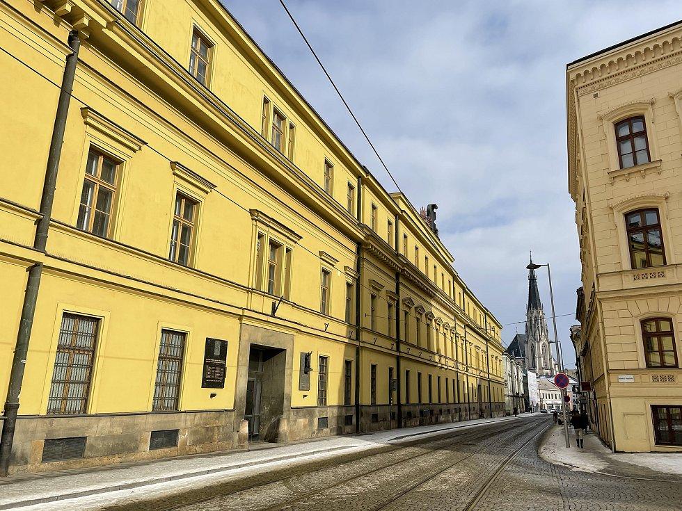 Hanácká kasárna v Olomouci, 15. února 2021