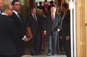 Návštěva prezidenta Miloše Zemana na SPŠ v Hranicích