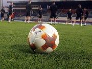 Trénink FC Kodaň na Andrově stadionu v Olomouci