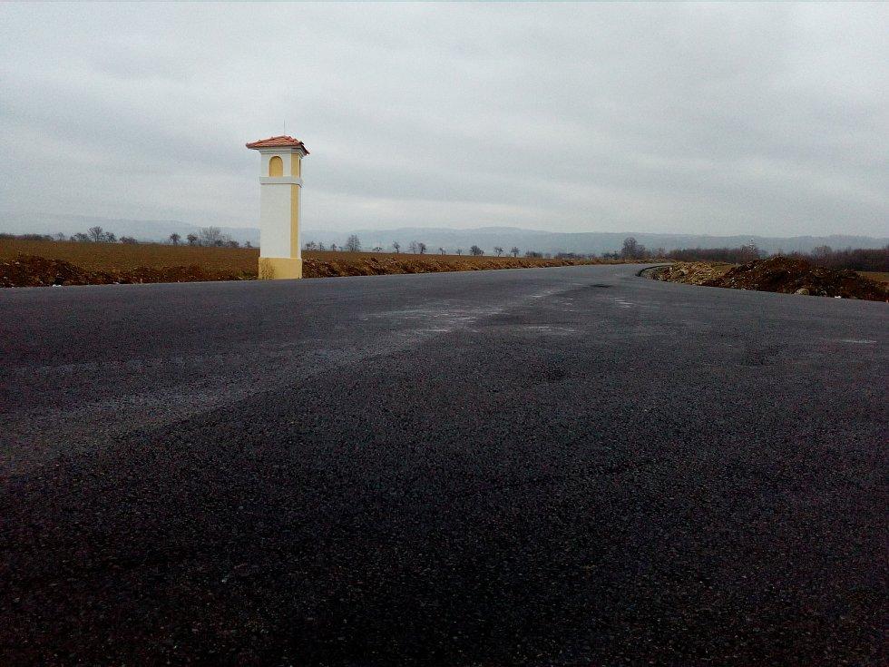 Rekonstrukce silnice mezi Štarnovem a Štěpánovem