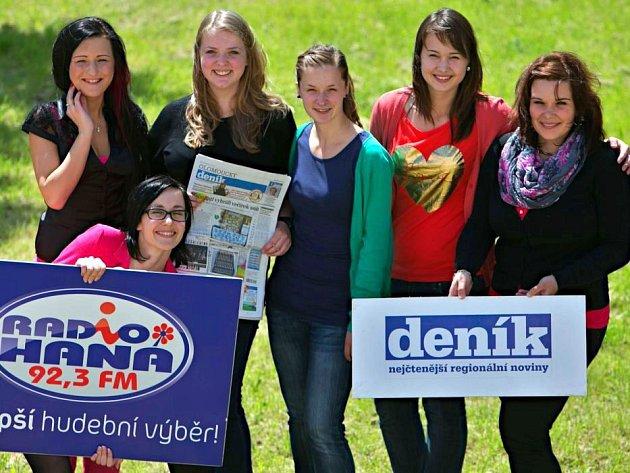 Studentky z vítězných středních škol si v Olomouci přebraly své odměny. Ta největší putovala do Přerova, kde se bude konat večírek snů.