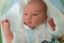 Jakub Jurena, Olomouc, narozen 6. května v Olomouci, míra 50 cm, váha 3010 g.