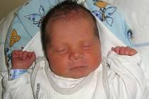 Patrik Krátký, Mladeč, narozen 7. března v Olomouci, míra 51 cm, váha 3440 g