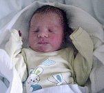 Michal Bím, Podštát, narozen14. září v Olomouci, míra 47 cm, váha 2600 g