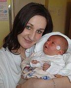 Kristýnka Hajkrová, Náměšť na Hané, narozena 10. února v Olomouci, míra 50 cm, váha 3680 g.