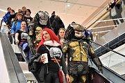 Cosplay festival v olomoucké obchodní galerii Šantovka