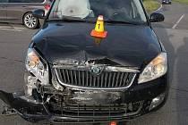 Nehoda na I/46 u Bohuňovic