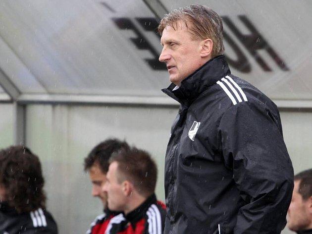 Trenér HFK Olomouc Oldřich Machala