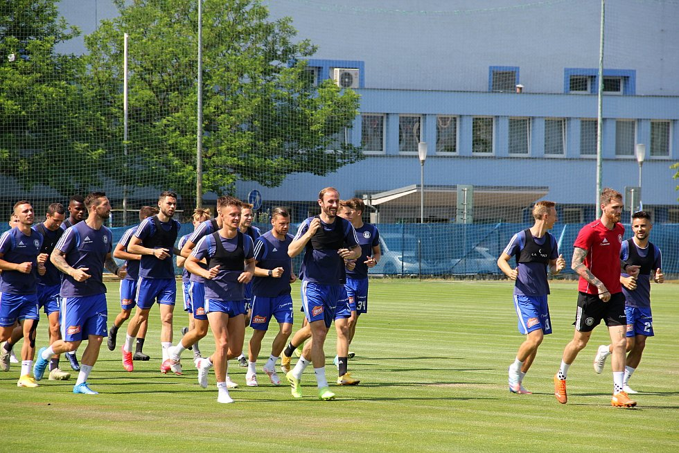 Fotbalová Sigma Olomouc zahájila přípravu na novou sezonu.