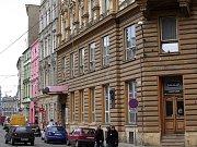Nárožní dům v Pavelčákově ulici, kde se dřív vařilo a pilo pivo