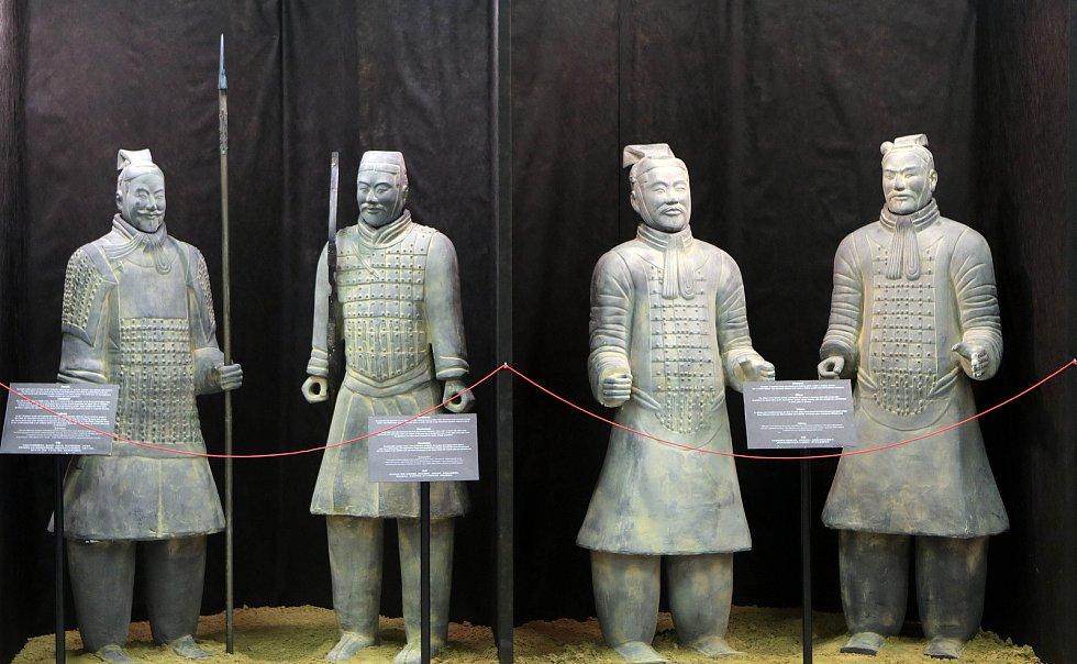 Hitem letošní letní etapy Flory 2017 je výstava terakotové čínské armády.