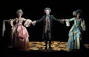 Mozartova komická opera Così fan tutte v Moravském divadle Olomouc