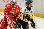 Olomoučtí hokejisté proti Litvínovu