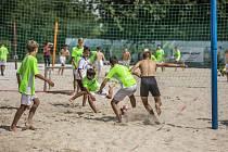 Účastníci Olomoucké fotbalové školy měli na programu spoustu aktivit.