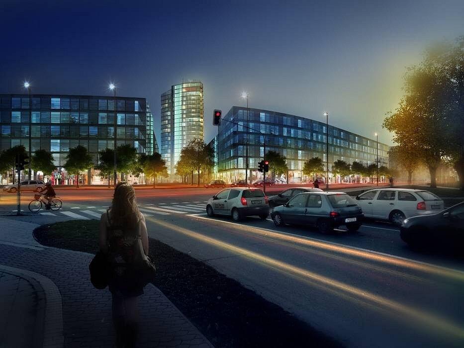 Šantovka Tower - vizualizace SMC Development