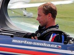 Martin Sonka, světová špička v letecké akrobacii