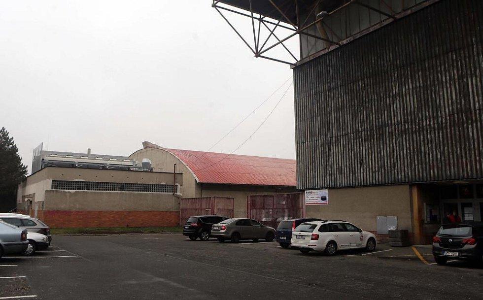 Strojovna chlazení zimního stadionu v Olomouci