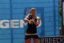 Tenistka Lucie Hradecká na olomouckém ITS CUPu.