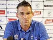 Klub SK Sigma Olomouc pořádal tiskovou konferenci před začátkem sezony. Miloš Buchta, kapitán a brankář Sigmy