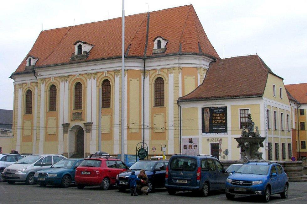 Vlastivědné muzeum na náměstí Republiky v Olomouci