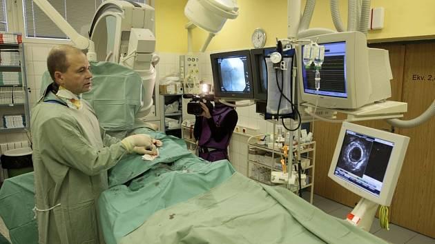 Vyšetření srdečních tepen v přímém přenosu