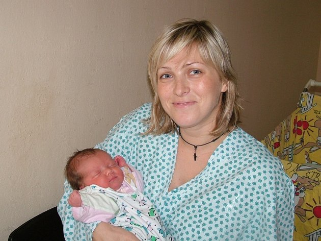 Ema Suková se narodila 24.10. 2007, váha: 3,2 kg, míra: 50 cm