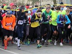 Zimní běh přes Kosíř. Ilustrační foto