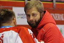 Trenér brankářů HC Olomouc Jan Littner