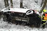 Nehoda v Kojetíně. Pátek 16. února 2018