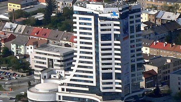 Budova RCO u hlavního nádraží