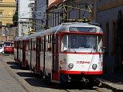 Olomoucká tramvaj T3. Ilustrační foto