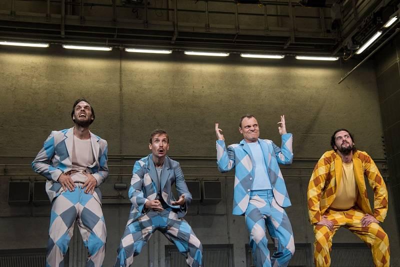 Tři mušketýři. Residenztheater Mnichov