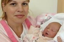Denisa Kafková, Droždín, narozena 29. června v Olomouci, míra 51 cm, váha 3090 g.