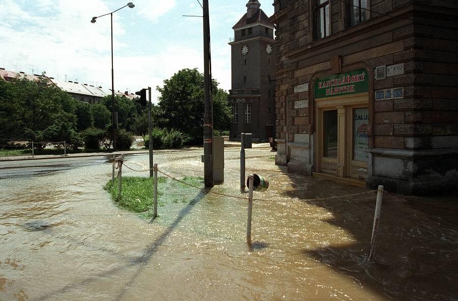 Křižovatka u Bristolu, Olomouc, 9. července 1997