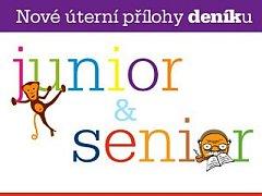 nové přílohy - Deník Senior a Deník Junior