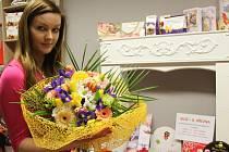 Olomoucká květinářka Aneta Gregorová
